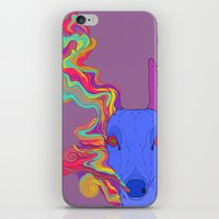 lsd iPhone & iPod Skins featuring LSD by DeadStag