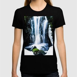 Early Spring Waterfall T-shirt