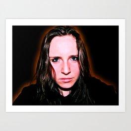 Self Portrait (The Darker Shades) Art Print