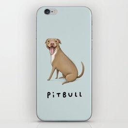 Pitbull iPhone Skin