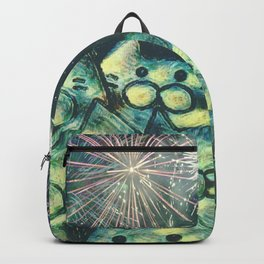 fireworks display cats 491 Backpack