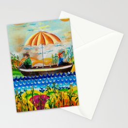 Max and Moritz and the sugar cane Stationery Cards