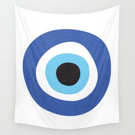 Evil Eye Symbol Wall Tapestry