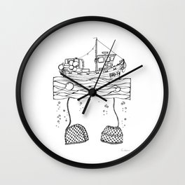 Broadford Skye #2 Wall Clock