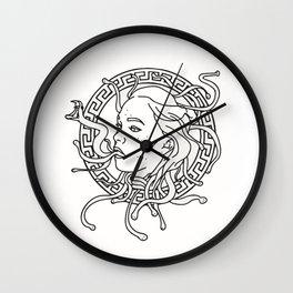 Annie Medusa Wall Clock