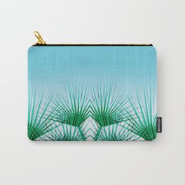 Airhead - memphis throwback retro vintage ombre blue palm springs socal california dreamer pop art Carry-All Pouch