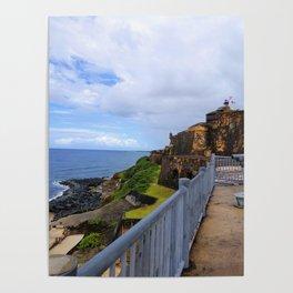 Castillo San Felipe del Morro Poster