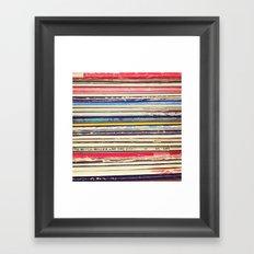Vinyl II  Framed Art Print