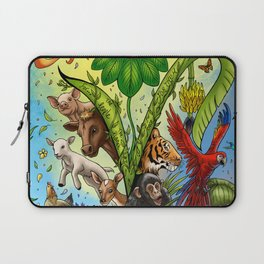 Vegan for them Laptop Sleeve