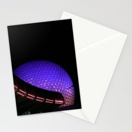 The Golfball at Night Stationery Cards