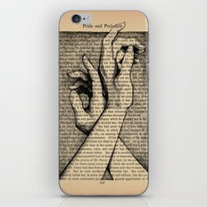 Pride & Prejudice, Page 142: Hands iPhone & iPod Skin