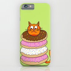 More Cats & Donuts Slim Case iPhone 6