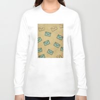 letter Long Sleeve T-shirts featuring Letter by sinonelineman
