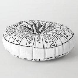 Compass 2 Floor Pillow