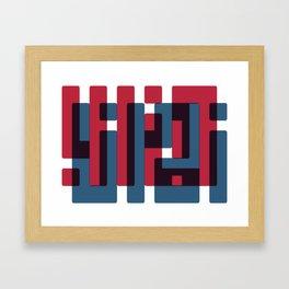 zamana kharab Framed Art Print