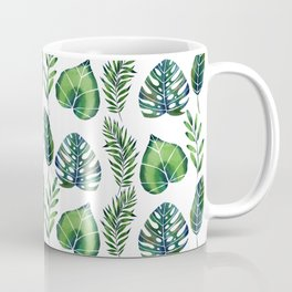 Tropical Ferns Coffee Mug