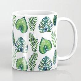 Tropical Ferns Coffee Mug