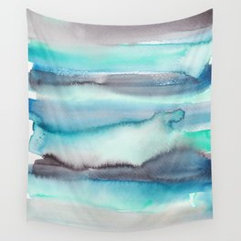 17       191215   Abstract Watercolor Pattern Painting Wall Tapestry