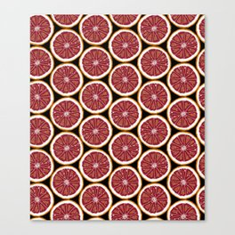 Grapefruit Fun Canvas Print
