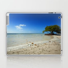 tree on a beach Laptop & iPad Skin