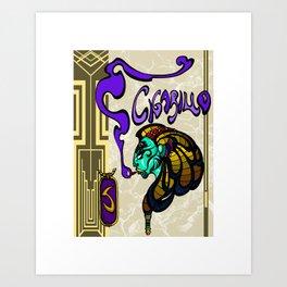 Sphinx Cigarillo  Art Print