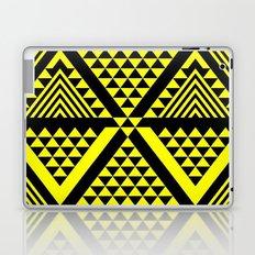 Black & Yellow Laptop & iPad Skin