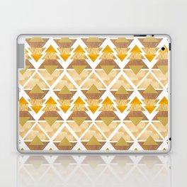 Natural Geometric Forest Laptop & iPad Skin