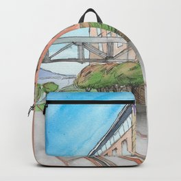 The Campus Railroad Backpack