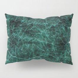 Green Marble Pillow Sham