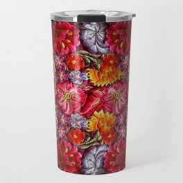"""Rose Huipil Embroidered"" Travel Mug"