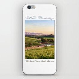 Wine County - McLaren Vale, South Australia iPhone Skin