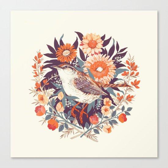 Wren Day Canvas Print