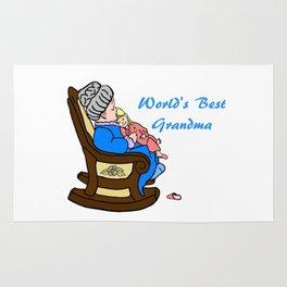 World's Best Grandma Rug