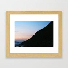 El Pescador Framed Art Print