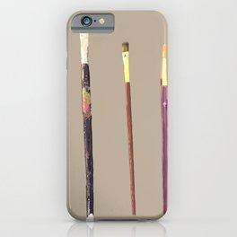 Paint brushes  iPhone Case