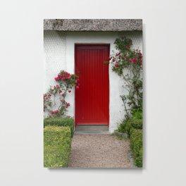 Charming - An Irish Cottage Metal Print