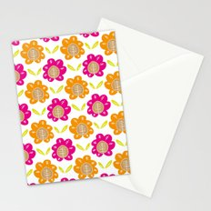 Friendship Flowers Stationery Cards
