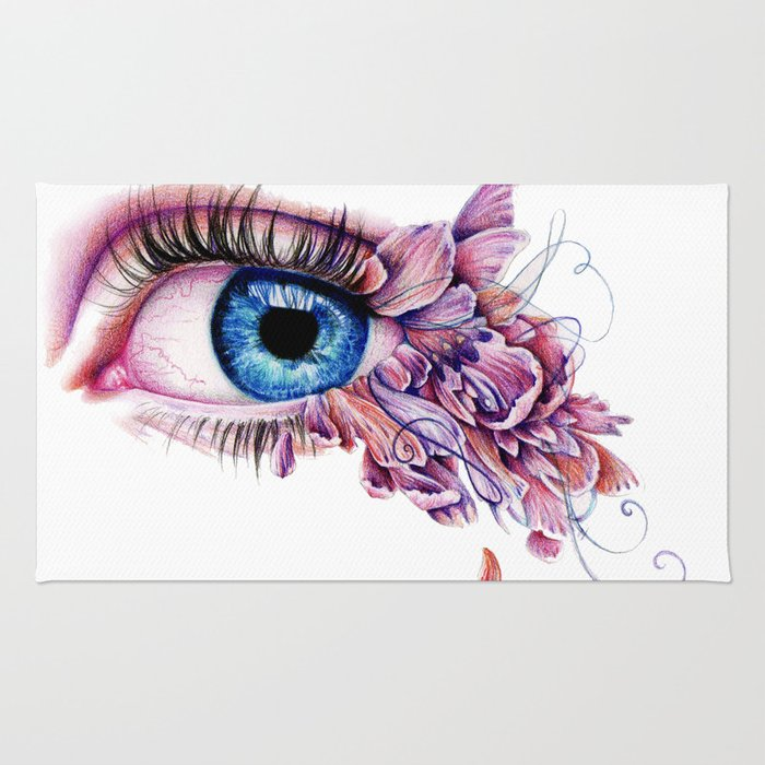The Soul Would Have No Rainbow If The Eyes Had No Tears Rug