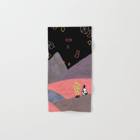 Mountain Girl Hand & Bath Towel