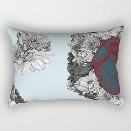 Fleeting heart Rectangular Pillow