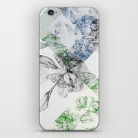serenity iPhone & iPod Skins featuring Serenity by La Scarlatte