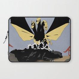 Ghidorah, the Three-Headed Monster Laptop Sleeve
