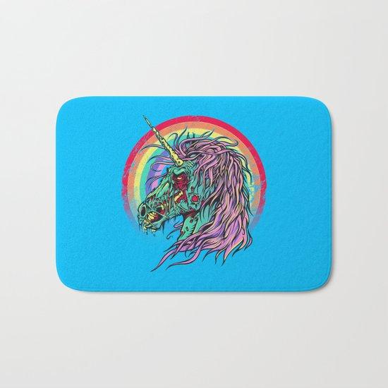 Zombie Unicorn Bath Mat