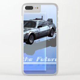 Back to the Future Clear iPhone Case