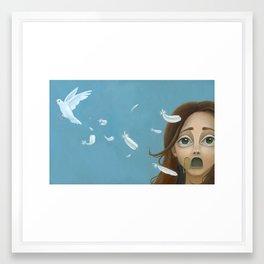 Speak- Print Version Framed Art Print