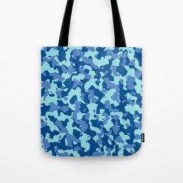 Camouflage Island Marina Tote Bag