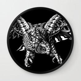 Ornate Falcon Wall Clock