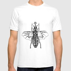 Beetle Mens Fitted Tee White SMALL
