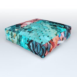 Sequin Outdoor Floor Cushion