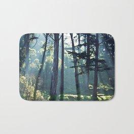 Trees In The Fog Bath Mat